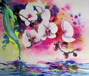 Orchidee 36x44cm