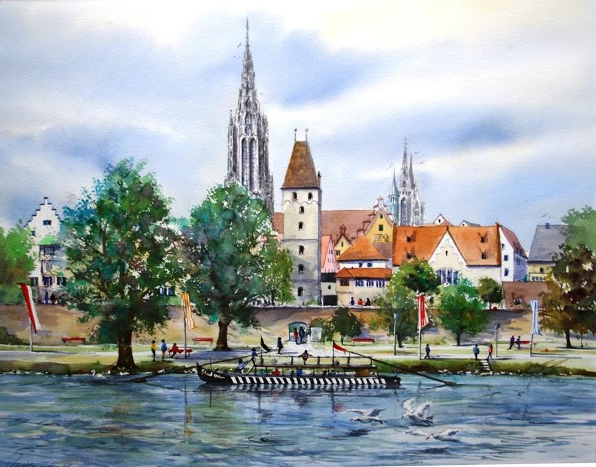 Ulm 39x50cm