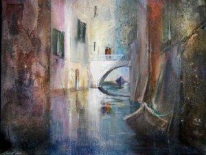 Venedig - Acryl 60 x 80 cm