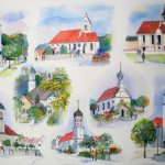 8 Kirchen aus dem Landkreis Guenzburg