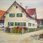 Anwesen in Burtenbach ca. 1950