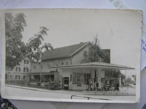 Foto Buchloe Tankstelle ca.1955