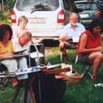 Malkurs VHS Lauingen Sommer 2005