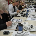 Workshop Japanische Tuschmalerei Juni 2008