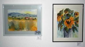Kunst in der Klinik Ichenhausen 1 Christina Schneider